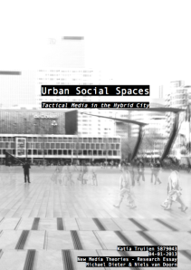 urban social spaces
